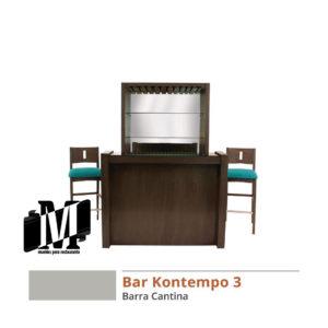 barra cantina bar para restaurante bar kontempo 3