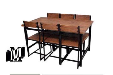 mesa Comedor para restaurante o bar terranova vintage