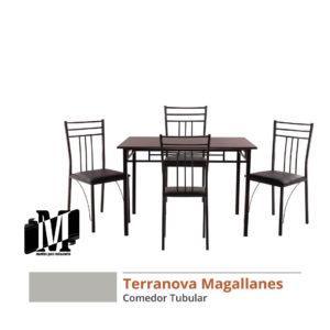 mesa-comedor para restaurante o bar tubular terranova magallanes