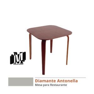 mesa de restaurante diamante antonella