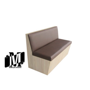mueble para restaurante fast food booth cafe
